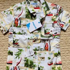 NWT Kids Hawaiian Shirt
